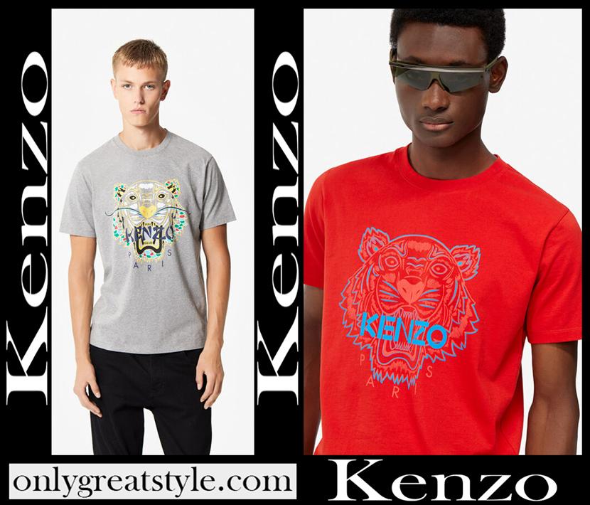Kenzo T Shirts 2020 mens fashion