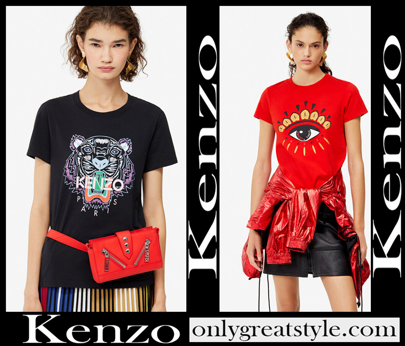 Kenzo T Shirts 2020 womens clothing