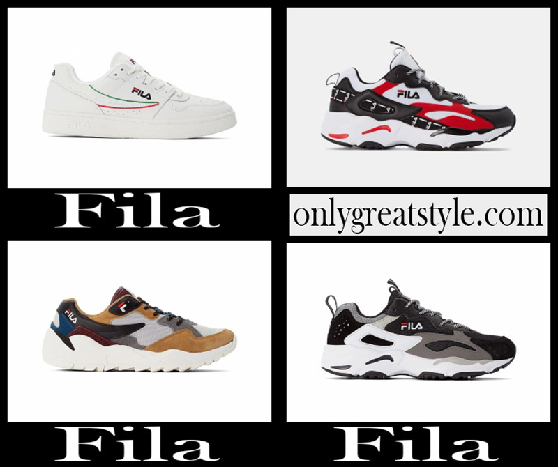 New arrivals Fila mens shoes 2020 sneakers