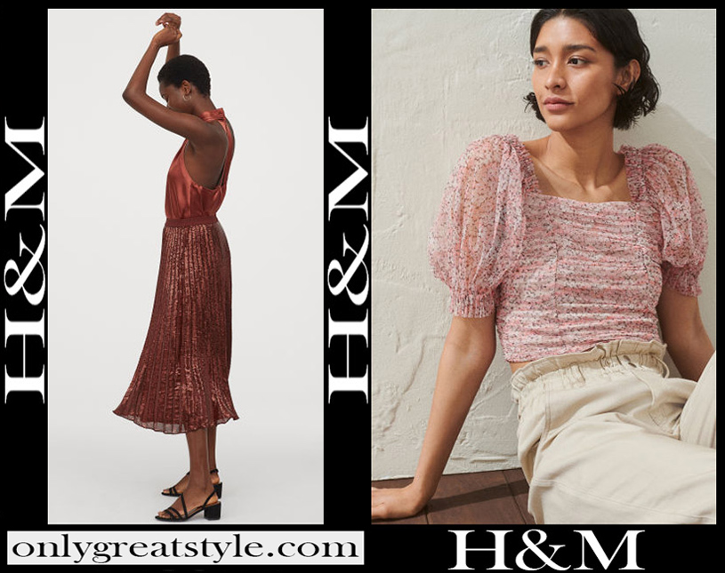 New arrivals HM womens clothing 2020