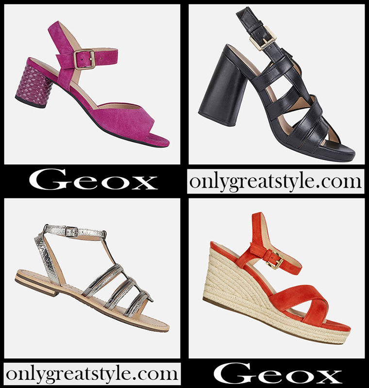 Sandals Geox shoes 2020 new arrivals womens