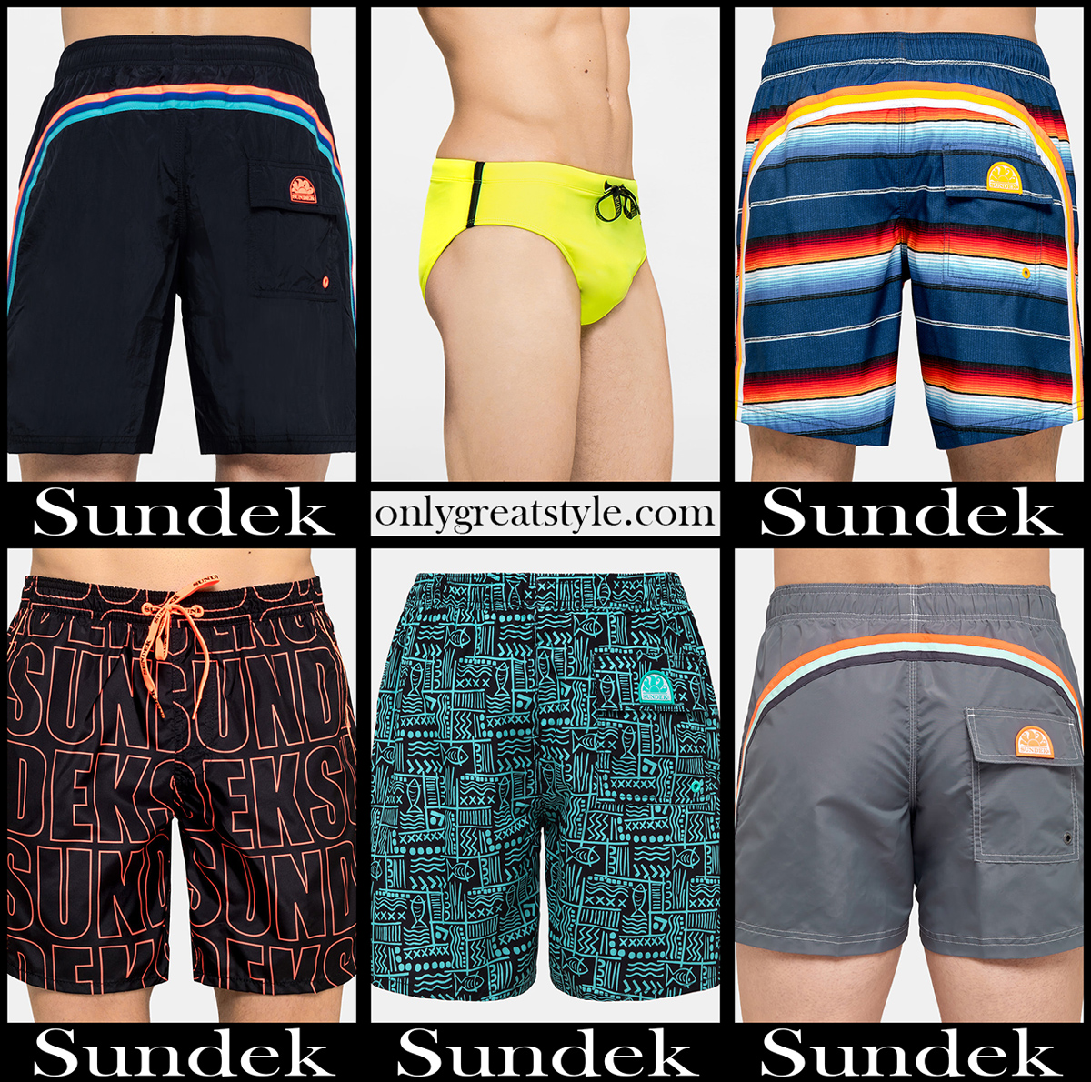 Sundek boardshorts 2020 swimwear mens accessories