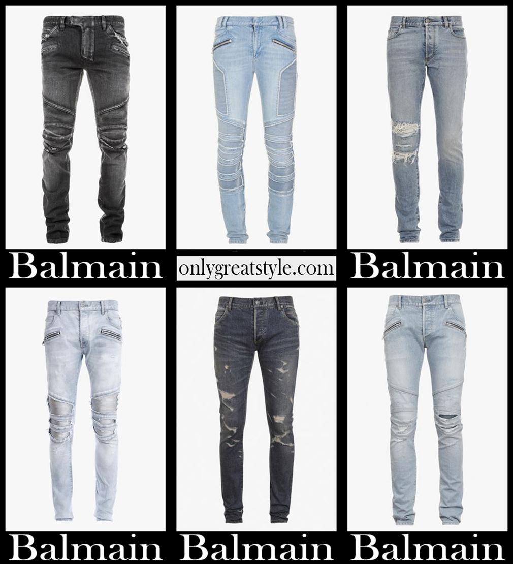 Balmain jeans 2021 new arrivals mens clothing